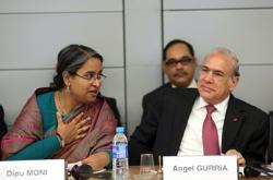 Global Forum on Responsible Business Conduct: Dipu Moni and Angel Gurría