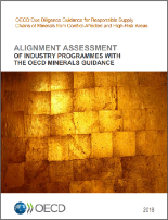 alignment assessment of industry programmes with the oecd minerals guidance