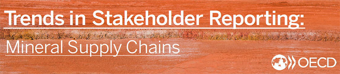 Trends in Stakeholder Reporting: Mineral Supply Chains banner